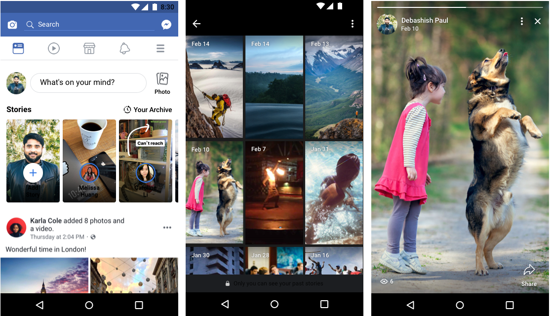 Facebook Introduces Voice Posts And More For Stories