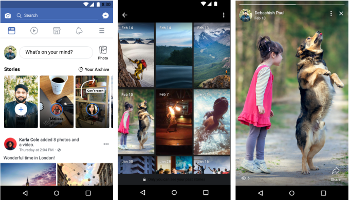 To make Stories global, Facebook adds Archive and audio posts