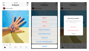 Instagram now lets you mute accounts