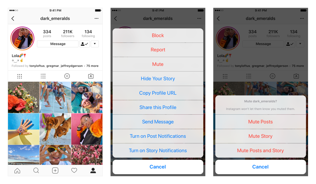 Instagram now lets you mute accounts | TechCrunch