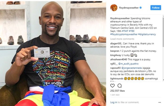 Floyd Mayweather-backed Centra Tech ICO founders indicted for fraud