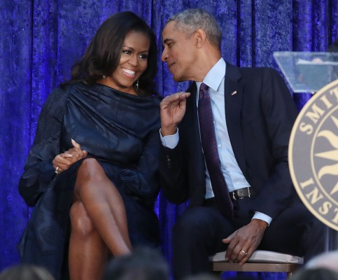 Barack and Michelle Obama sign production deal with Netflix gettyimages 917433542