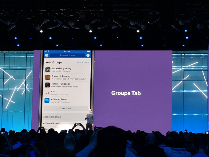 Facebook is launching a new Groups tab and plugin