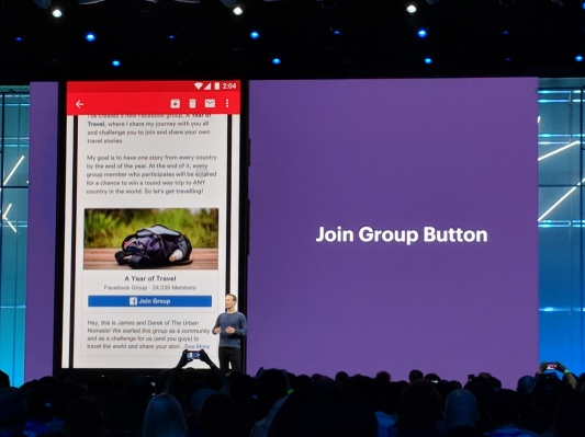 e9a122339f1b Techmeme  Facebook announces a new Groups tab as well as a Groups plugin  that admins and developers can add to their websites and emails