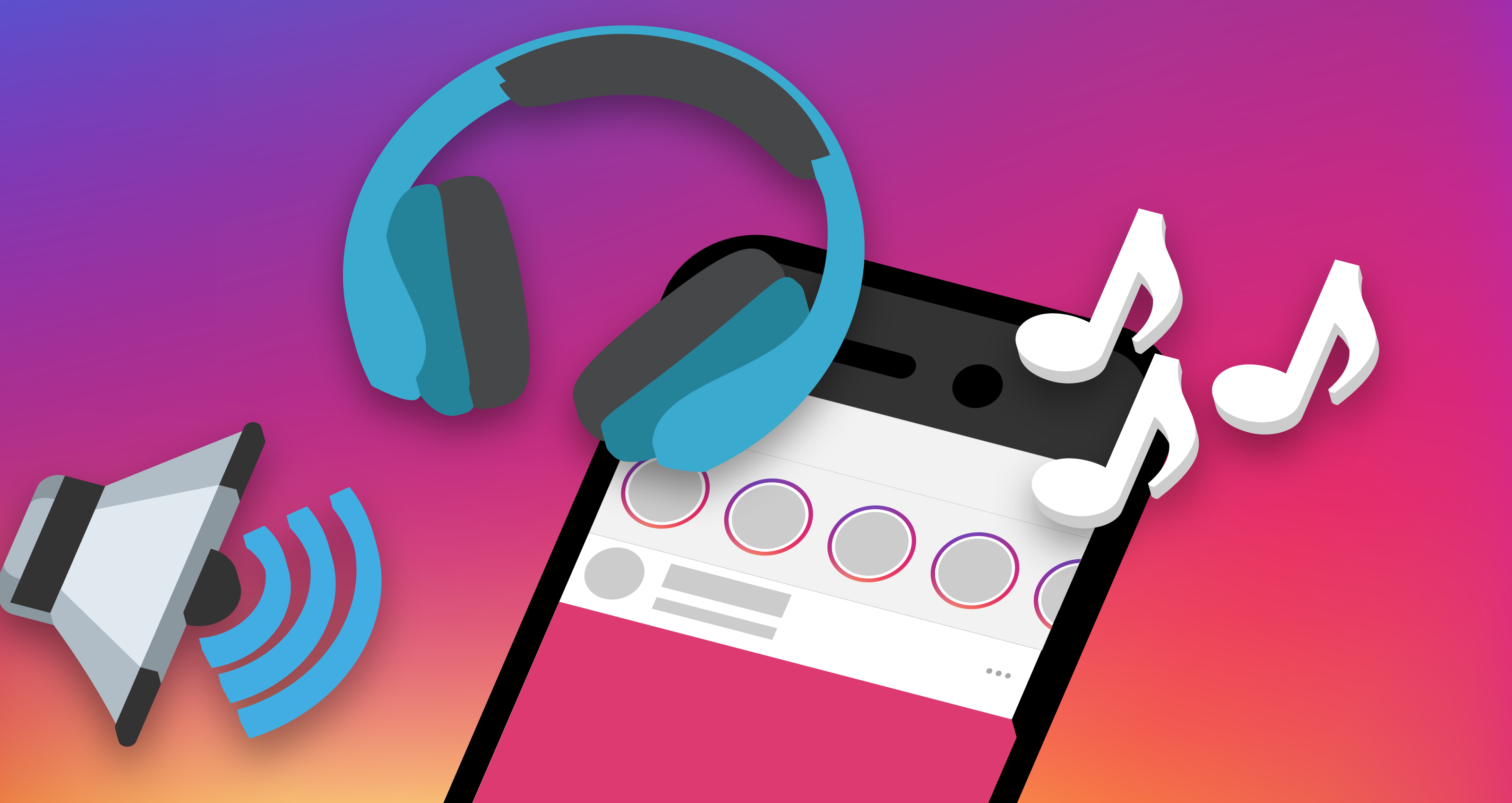 Instagram Stories now lets its 400M users add soundtracks | TechCrunch