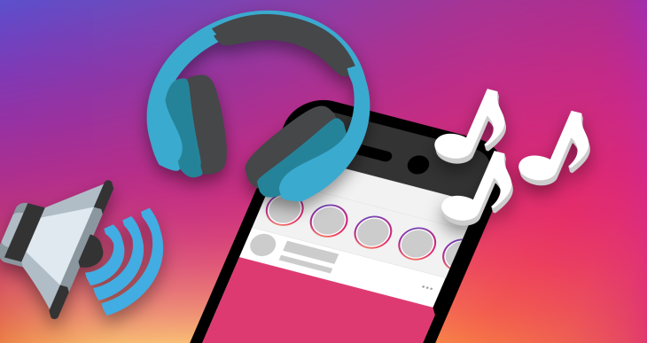 Instagram Stories now lets its 400M users add soundtracks