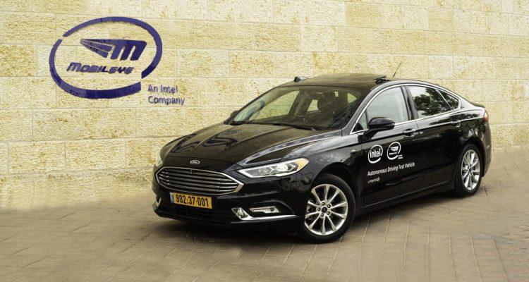 Intel starts testing self-driving cars in Jerusalem
