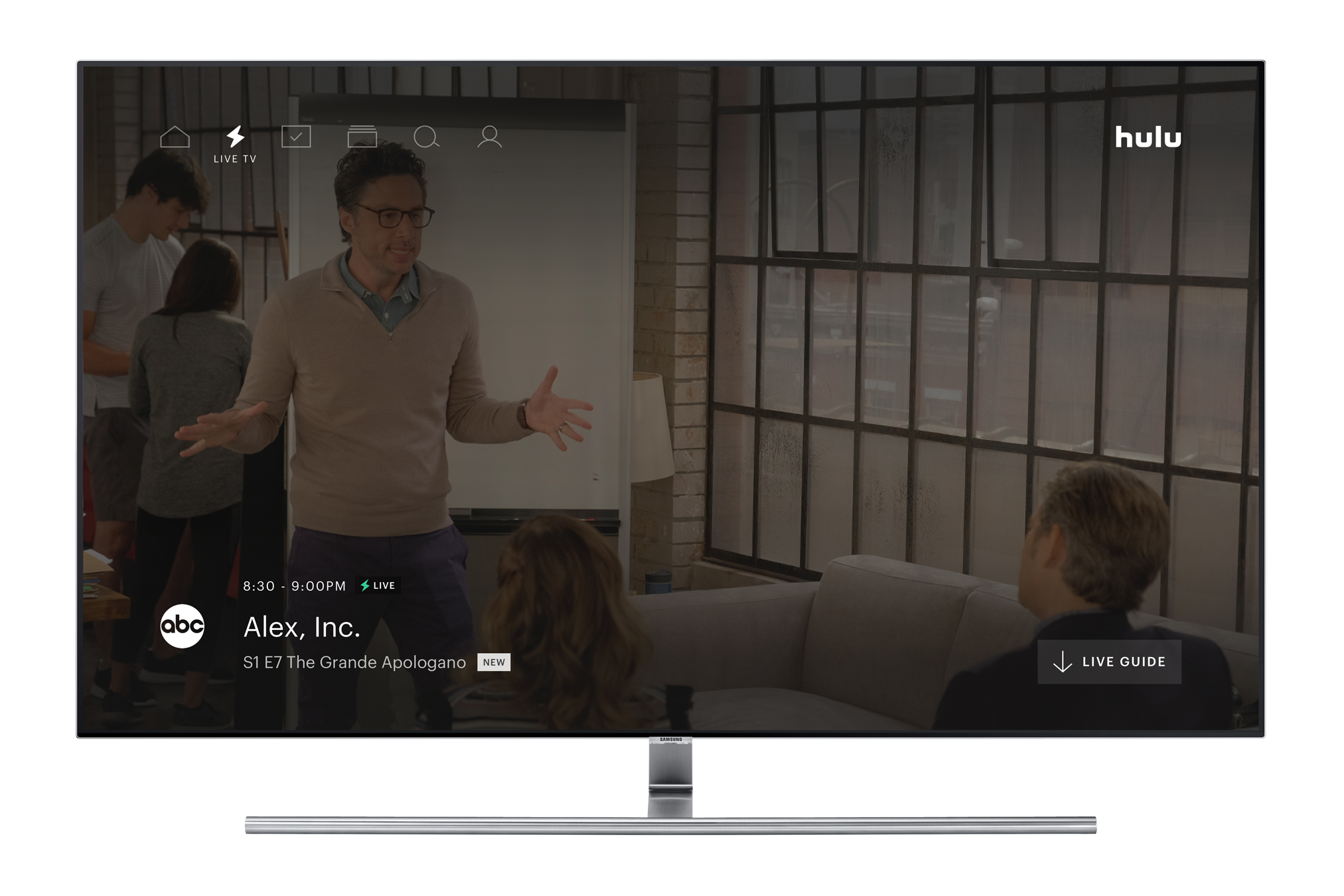 Hulu announces Live TV Guide for streaming service