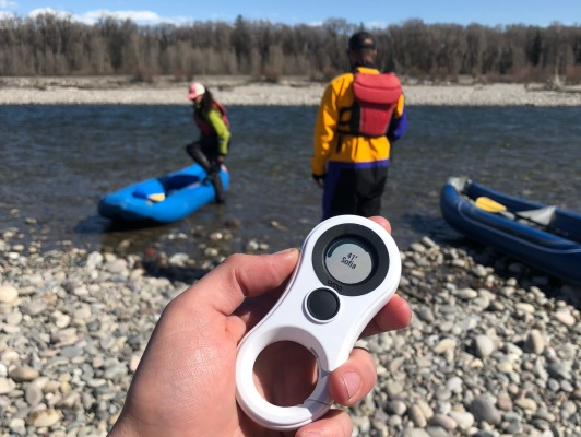 Lynq is a dead-simple gadget for finding your friends outdoors