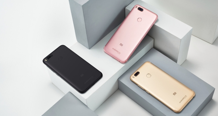 Xiaomi takes aim at Europe's smartphone markets mi a1 02
