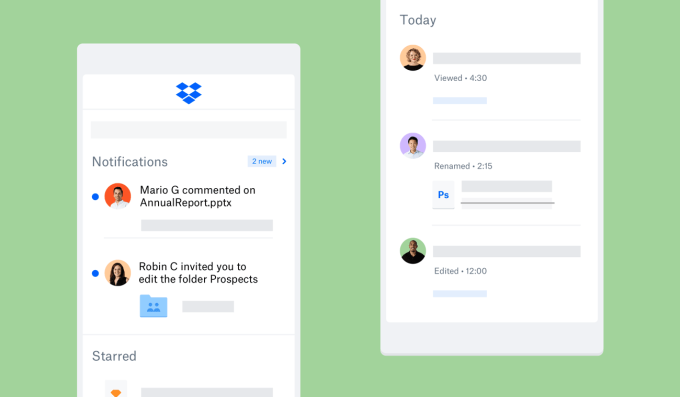 Dropbox beefs up mobile collaboration in latest release