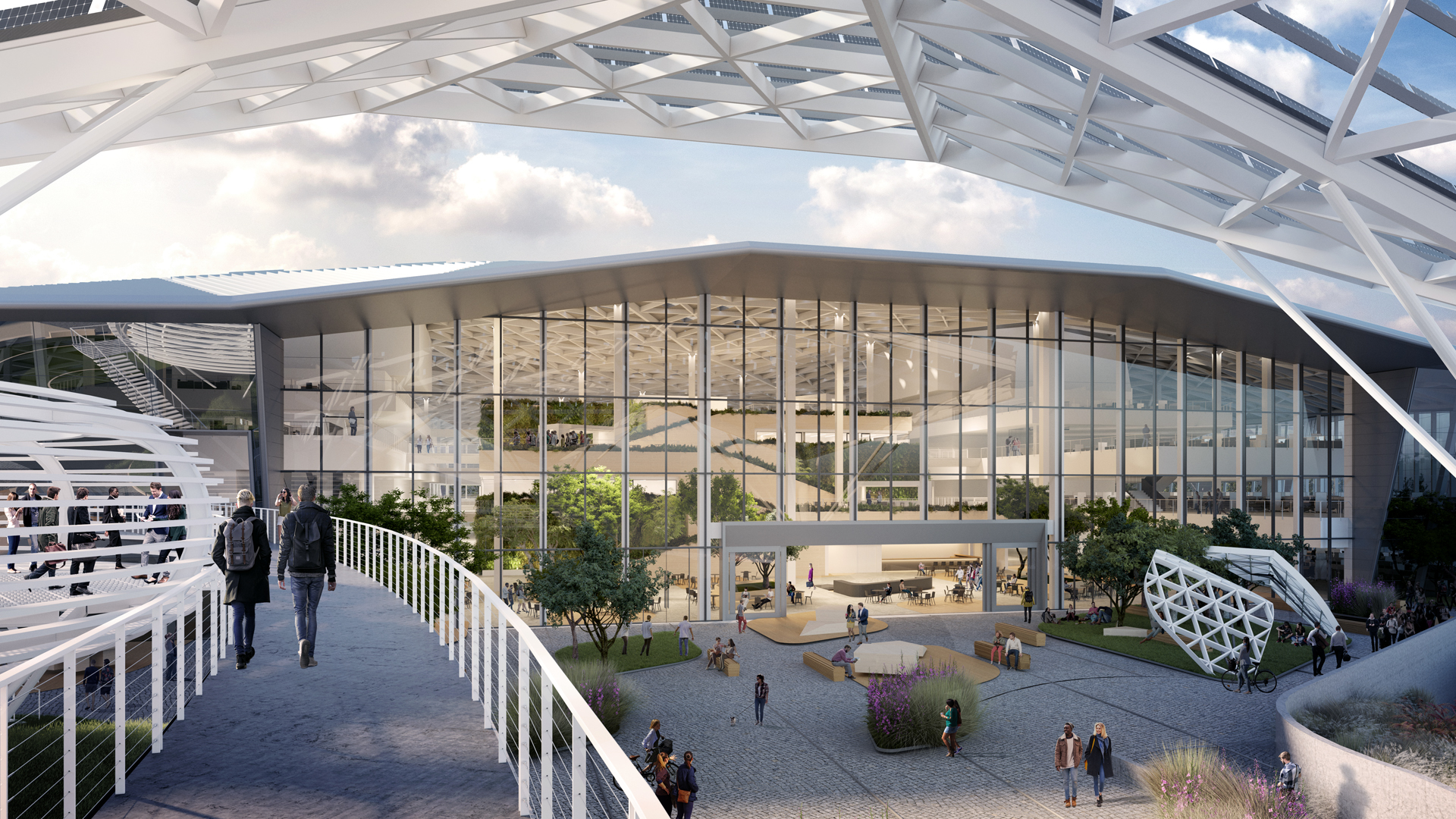 This is the first look at Nvidia's wild new 750,000 sq ft building
