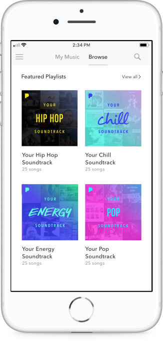 Pandora's personalized playlists go live for all Premium