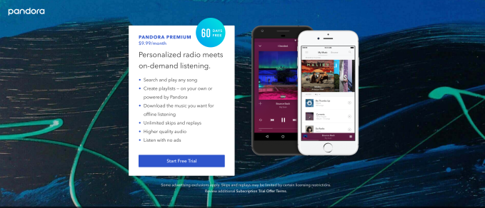 Philo and Pandora are offering a discounted, but temporary, 3-month bundle of TV and music