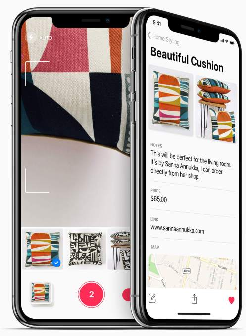 Collections is a better way to organize those photos you snap as mental notes