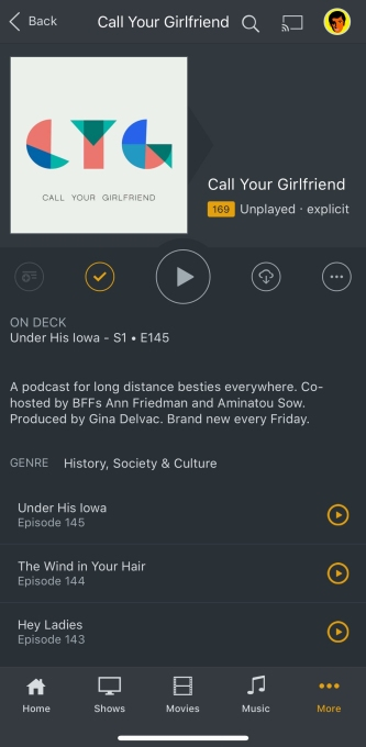 Plex adds support for podcasts, debuts personalized mobile