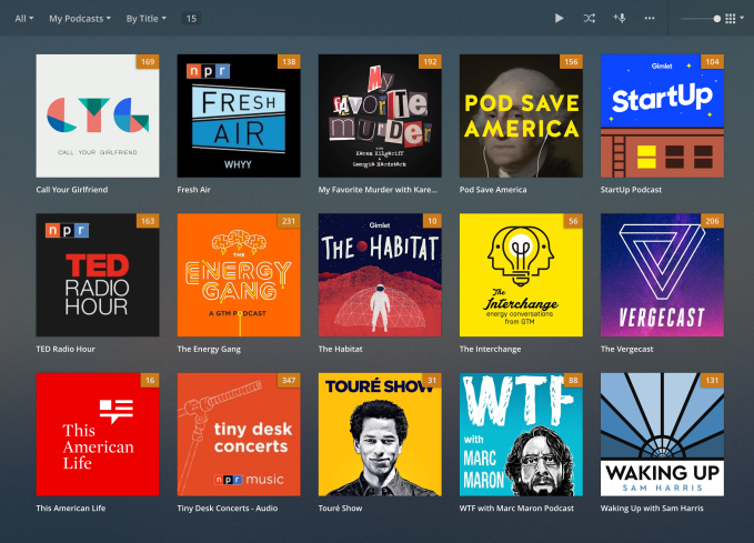 Plex adds support for podcasts, debuts personalized mobile apps