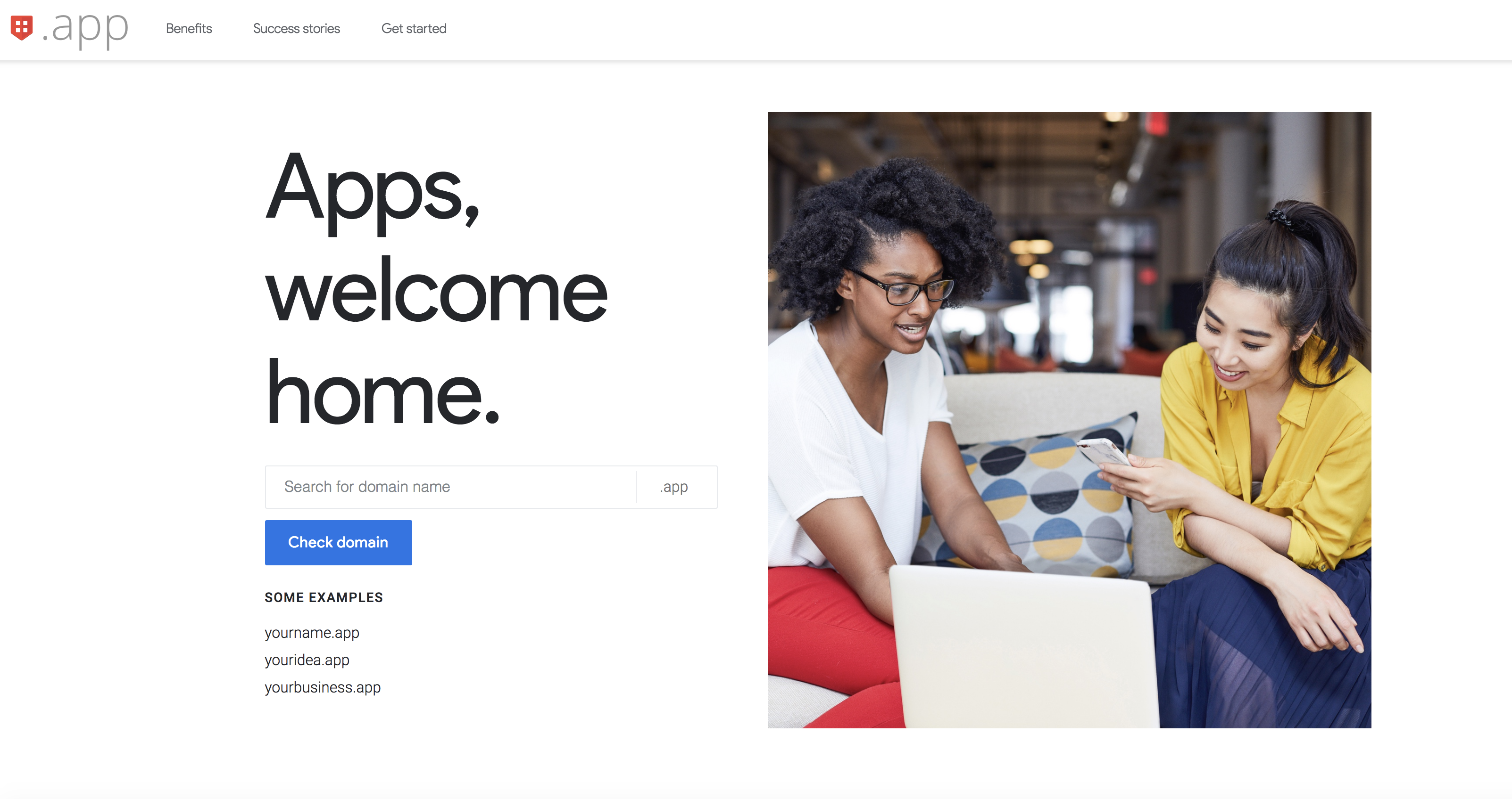 Google launches .app domains