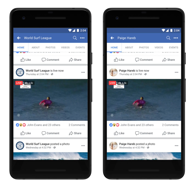 Facebook Live gets new updates to simplify streaming setup for creators