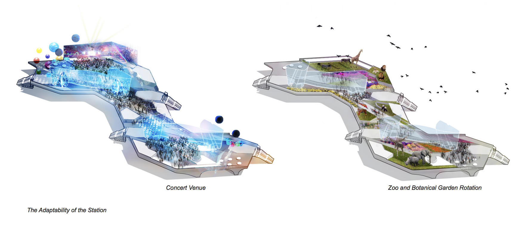 Here are some uberAIR 'Skyport' design concepts