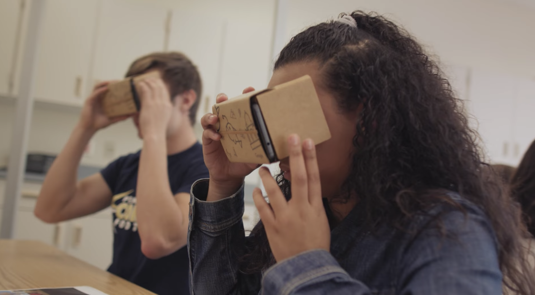 Google Tour Creator enables students to create their own VR tours