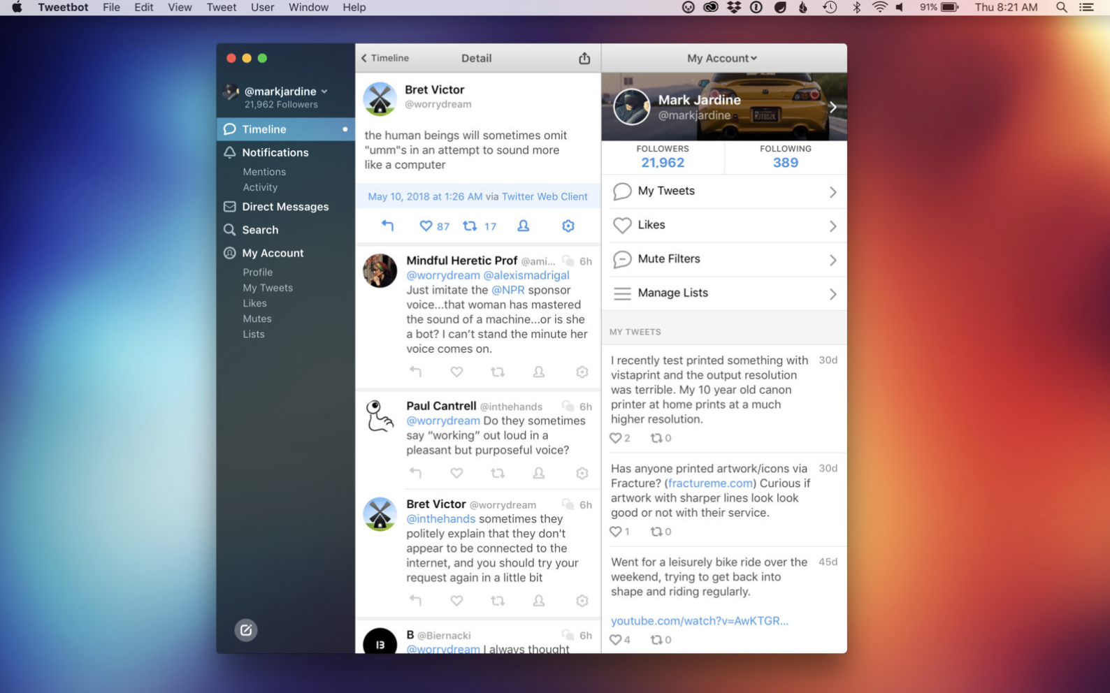 Tweetbot 3 arrives with a new look…and a reprieve from Twitter's API