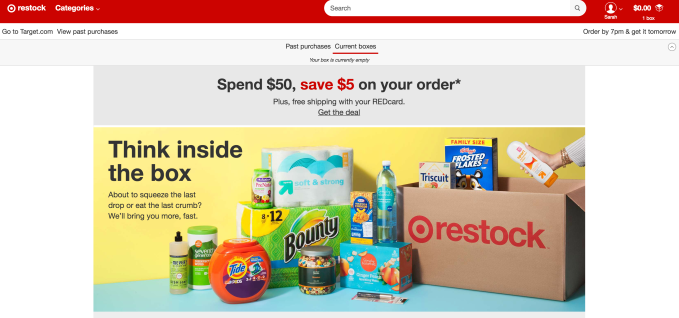 Unlike Amazon Prime, Target Restock doesnt require a membership fee – that an angle Walmart adopted with its free shipping program, too.