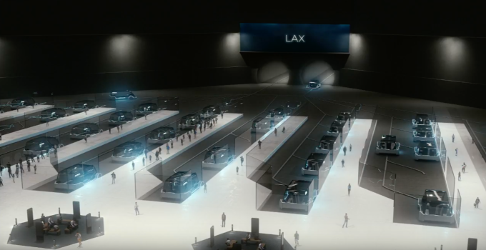Elon Musk details his plan to rid LA of traffic with $1 rides on the Boring Co. 'Loop' screen shot 2018 05 17 at 8 01 51 pm