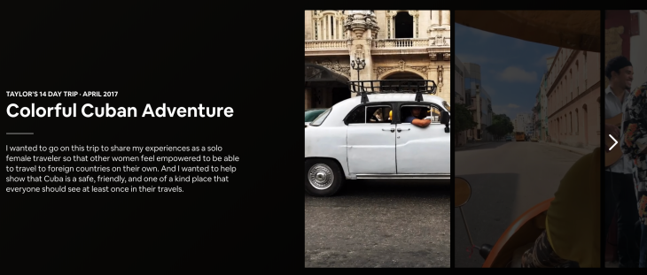 Airbnb quietly launches its own Stories for users to build