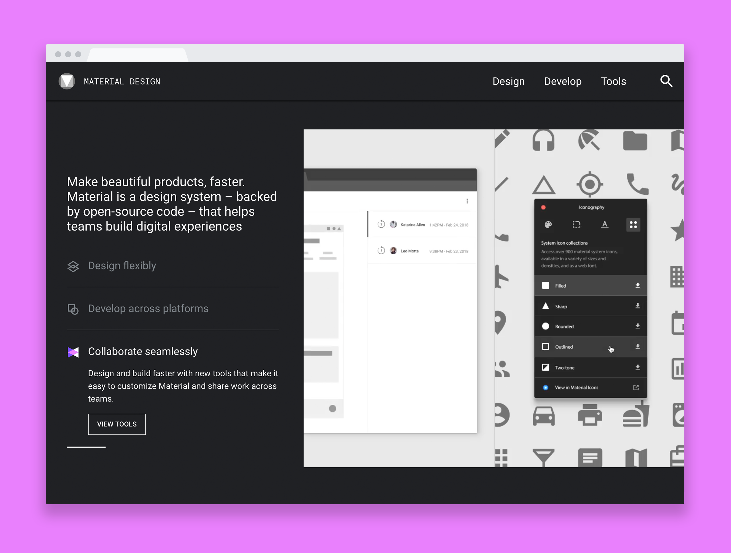 Google makes its Material Design system easier to customize