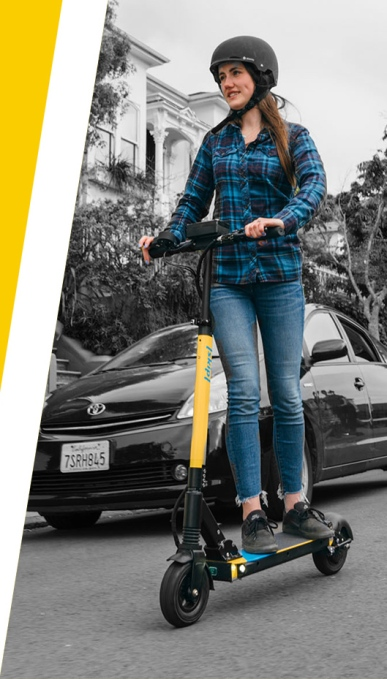 Boosted Boards founders launch heavy-duty scooter renter