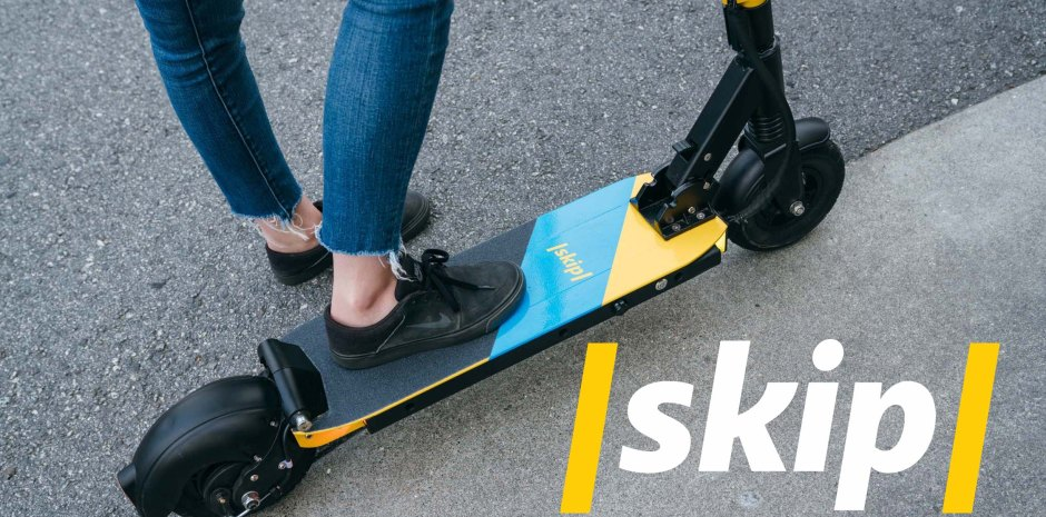 boosted boards founders launch heavy duty scooter renter skip