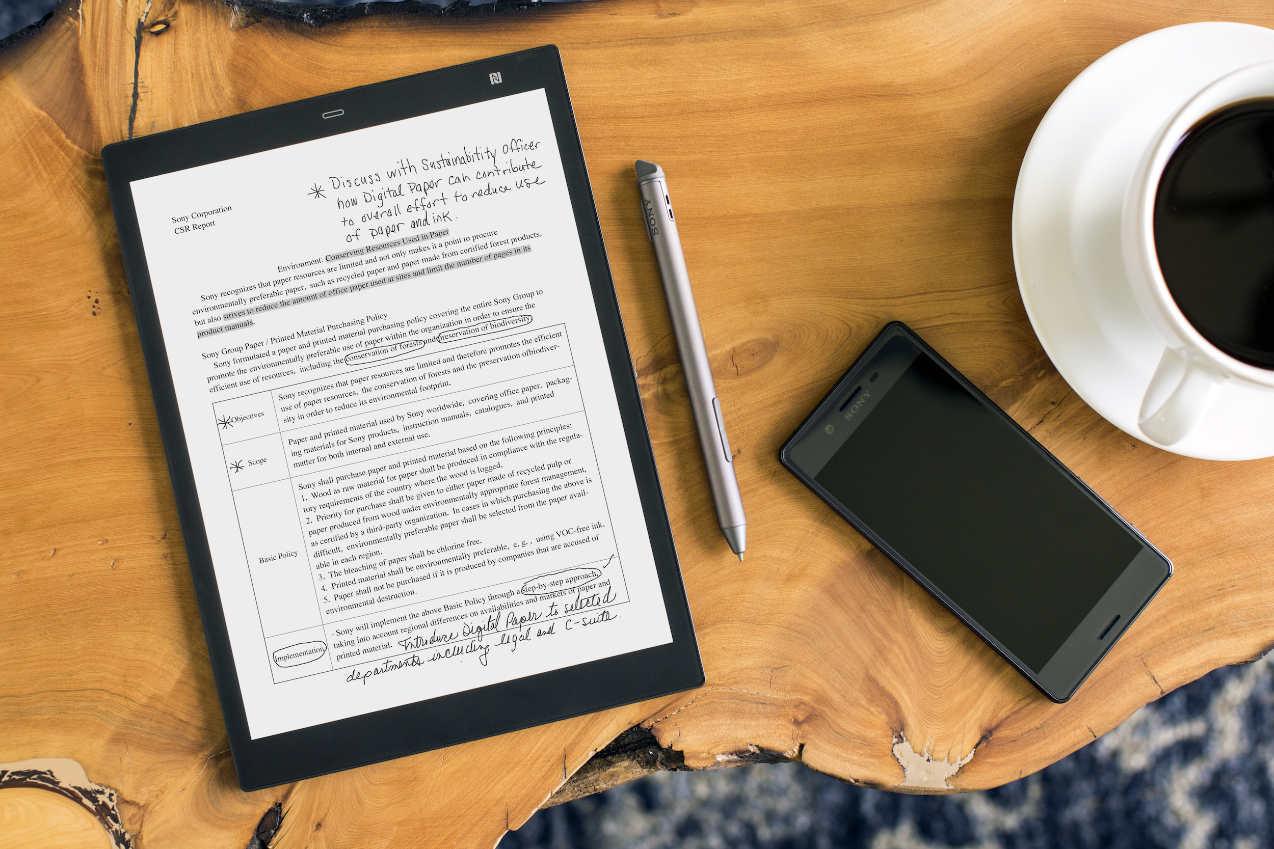 Sony shrinks its Digital Paper tablet down to a more manageable 10 inches