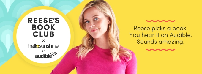 Reese Witherspoon's Hello Sunshine teams with Amazon's Audible on audiobooks and originals