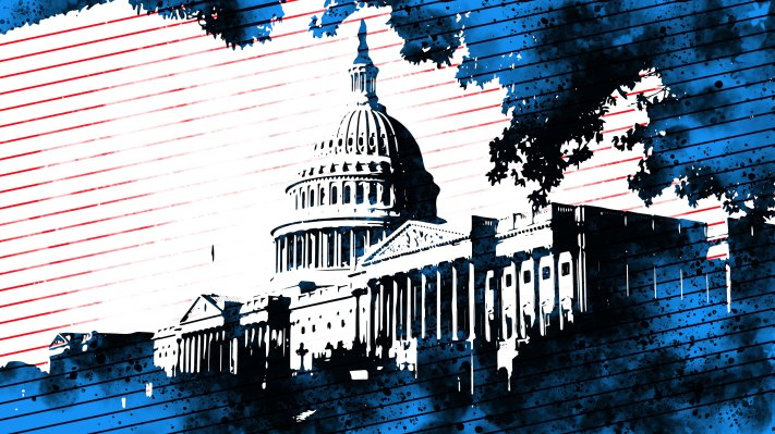 United states capitol spatter