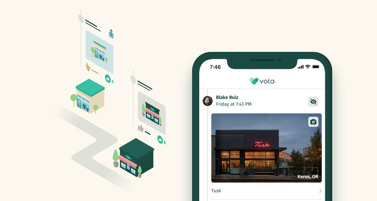 Vota turns your credit card transactions into recommendations, helps you spot fraud