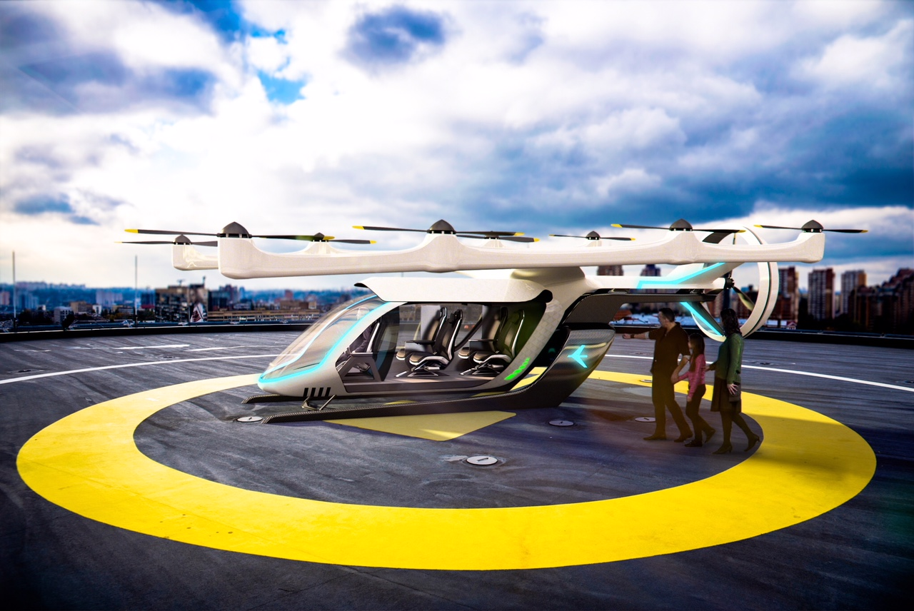 Uber's aerial taxi play vtol helipad 02 1 tk pos production