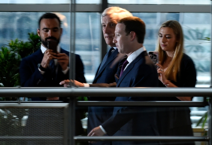 Zuckerberg avoided tough questions thanks to short EU testimony format zuckerberg european parliament europe eu facebook 2
