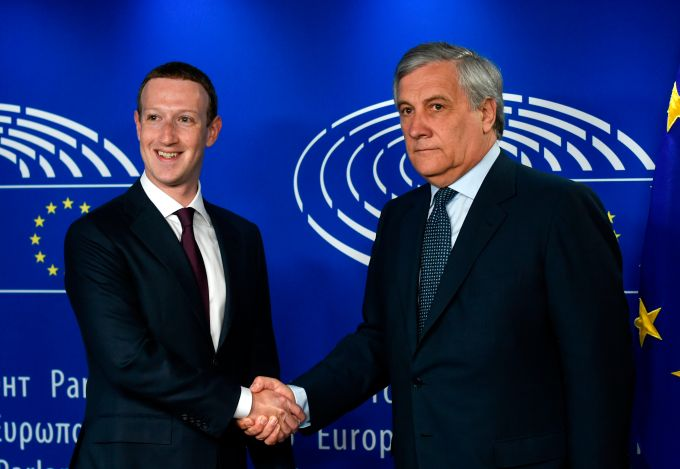 Zuckerberg avoided tough questions thanks to short EU testimony format zuckerberg european parliament europe eu facebook