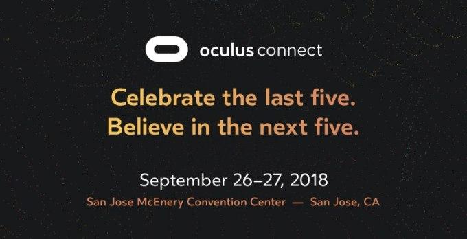 Facebook announces Oculus Connect dates Sept. 26-27