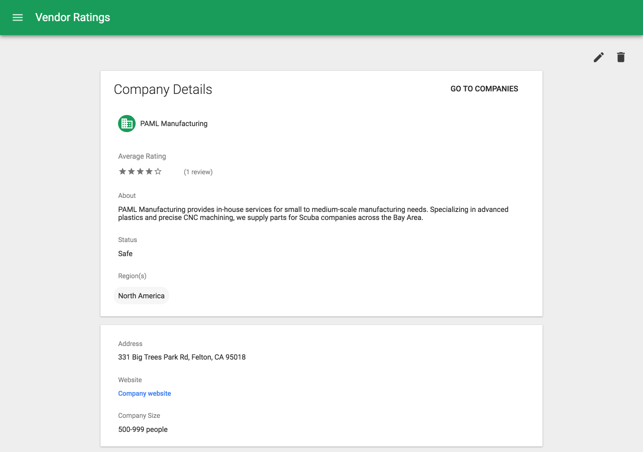 App Maker, Google's low-code tool for building business apps