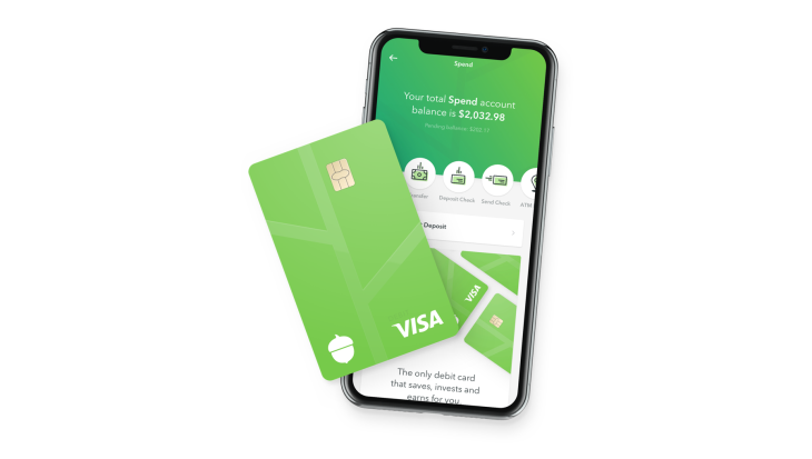 acorns the financial management service for micro investments is adding a rewards debit card to its arsenal of tools aimed at getting americans to create - Visa Debit Card App