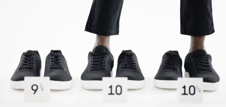 Atoms nabs $8.1M for shoes you can buy in quarter sizes and separate left/right measurements