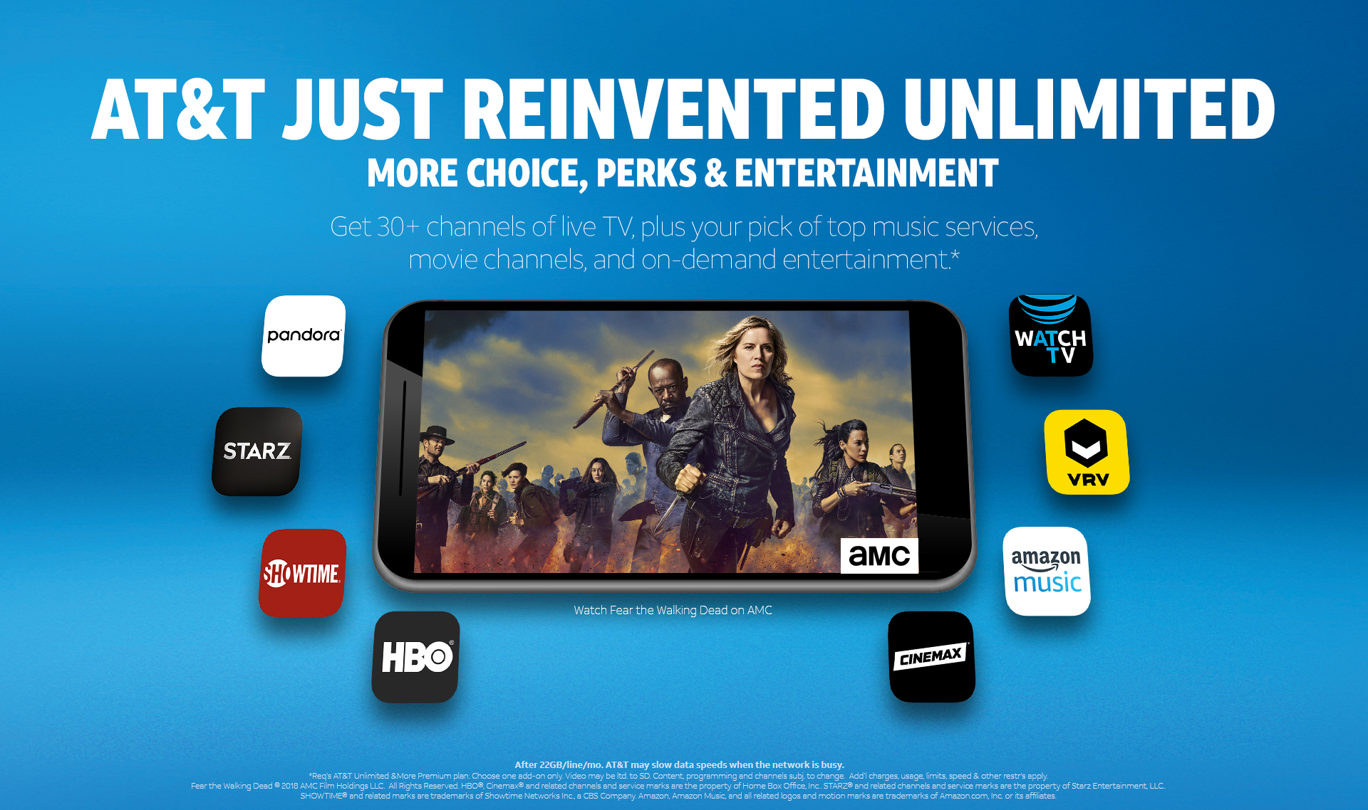 AT&T debuts their skinny Watch TV service to fend off Sling TV