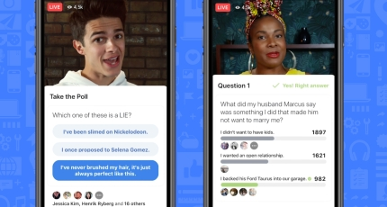 e45ce6431bf Facebook launches gameshows platform with interactive video