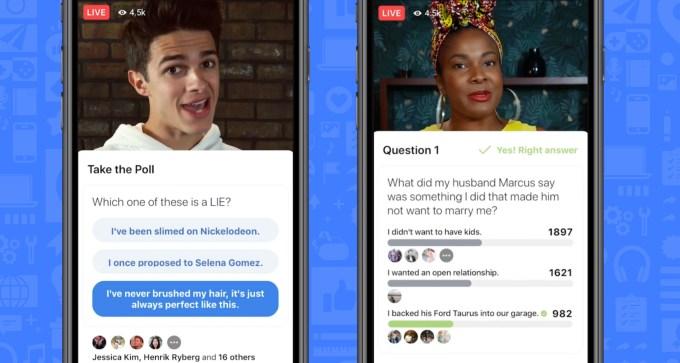 Facebook launches gameshows platform with interactive video | TechCrunch