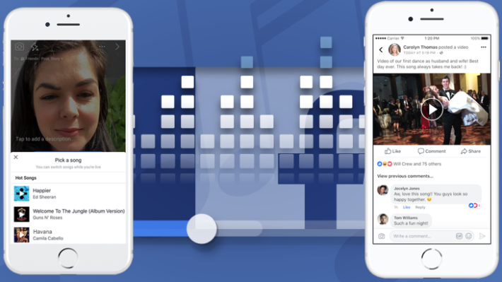 13a7ca2be46 Techmeme  Facebook tests Lip Sync Live feature to compete with musical.ly  and says users can now upload videos with copyrighted music (Josh ...