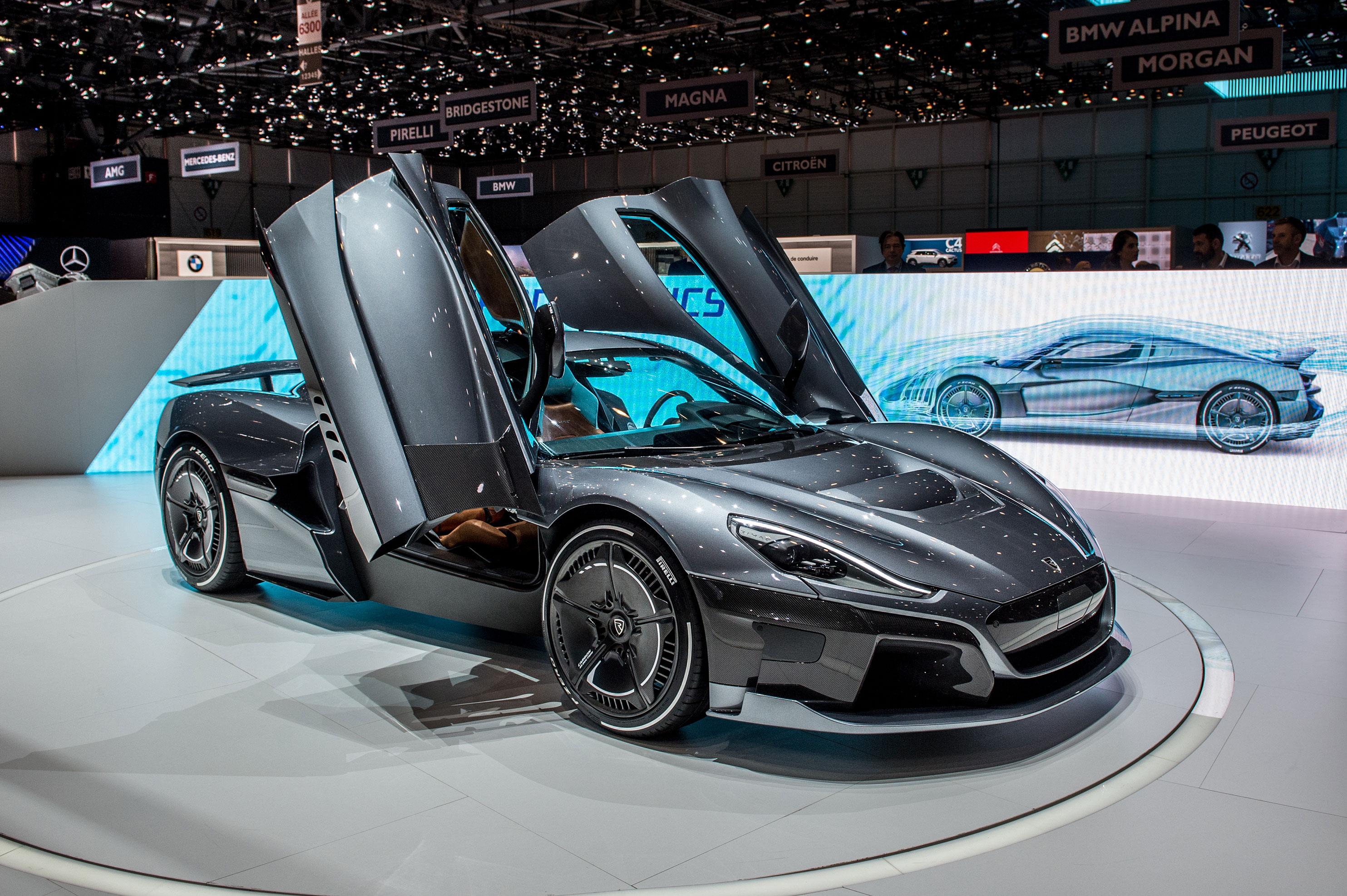Porsche just took a 10% stake in electric hypercar maker Rimac
