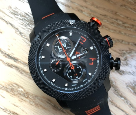 LIV is Kickstarting a beefy and bold chronograph for race lovers