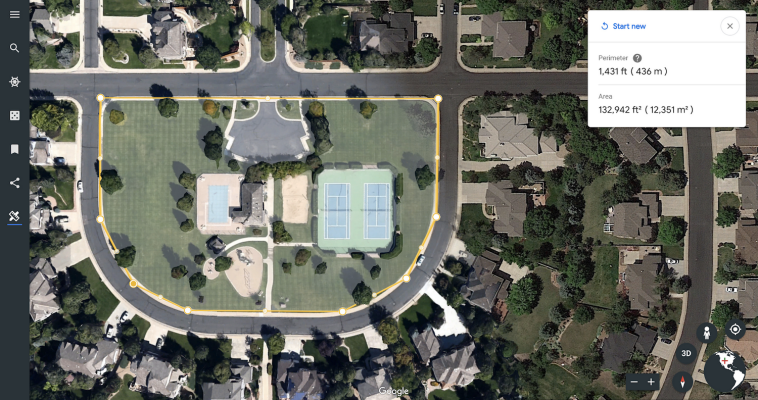 Google Earth now lets you measure distances and...